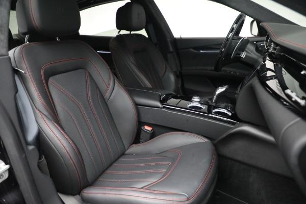 Used 2019 Maserati Quattroporte S Q4 GranLusso for sale $69,900 at Alfa Romeo of Greenwich in Greenwich CT 06830 28