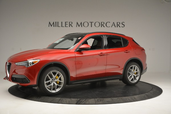 New 2018 Alfa Romeo Stelvio Ti Sport Q4 for sale Sold at Alfa Romeo of Greenwich in Greenwich CT 06830 2