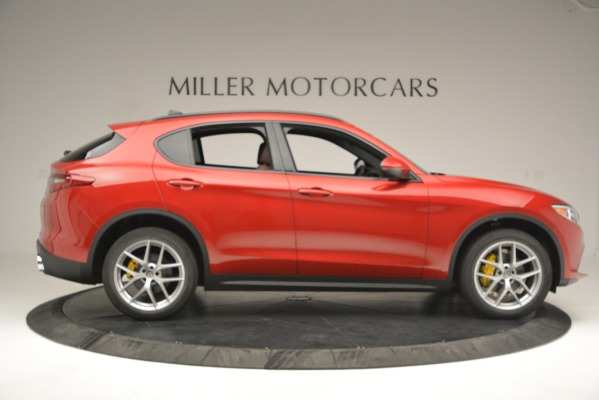 New 2018 Alfa Romeo Stelvio Ti Sport Q4 for sale Sold at Alfa Romeo of Greenwich in Greenwich CT 06830 9