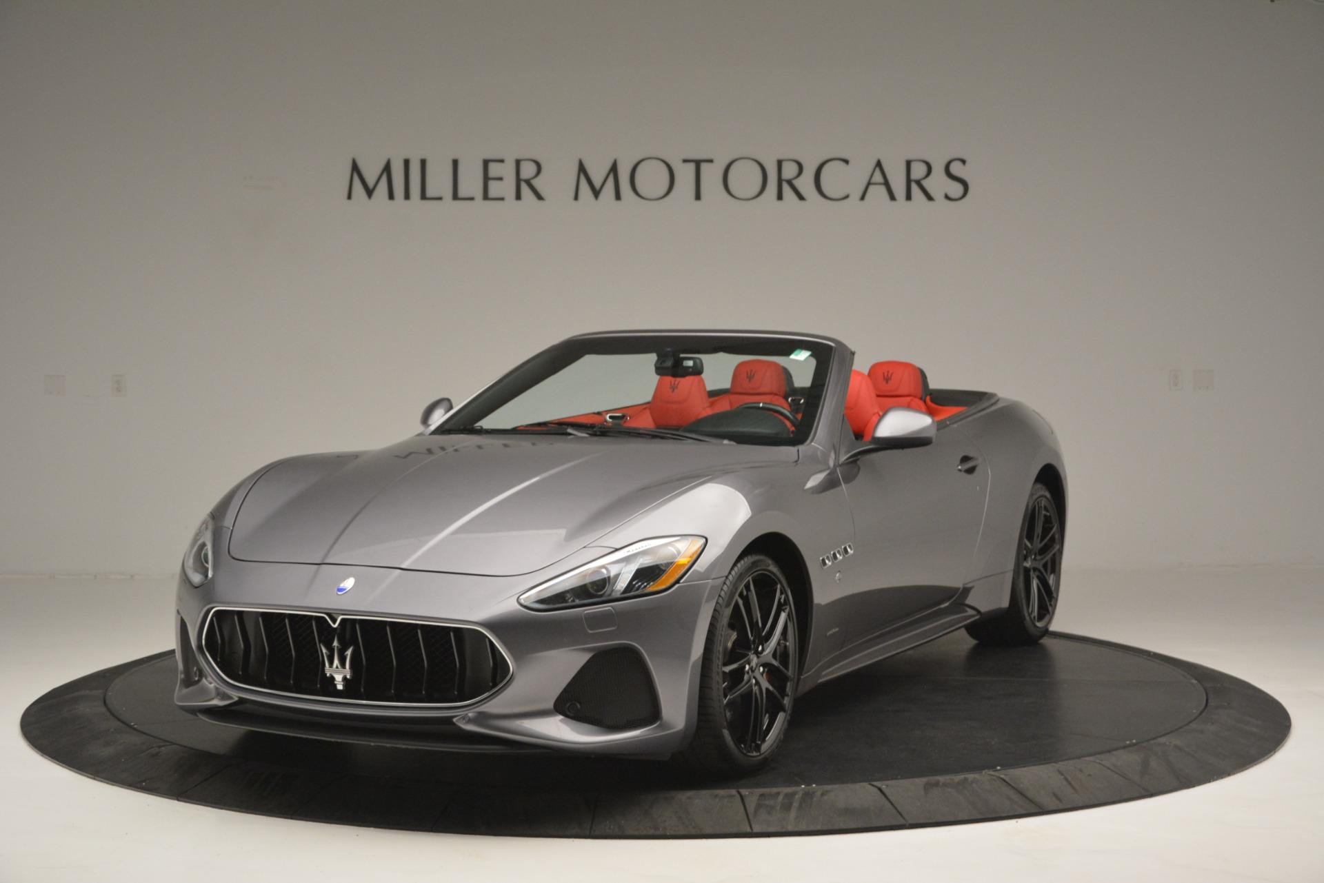 Used 2018 Maserati GranTurismo Sport for sale $102,900 at Alfa Romeo of Greenwich in Greenwich CT 06830 1