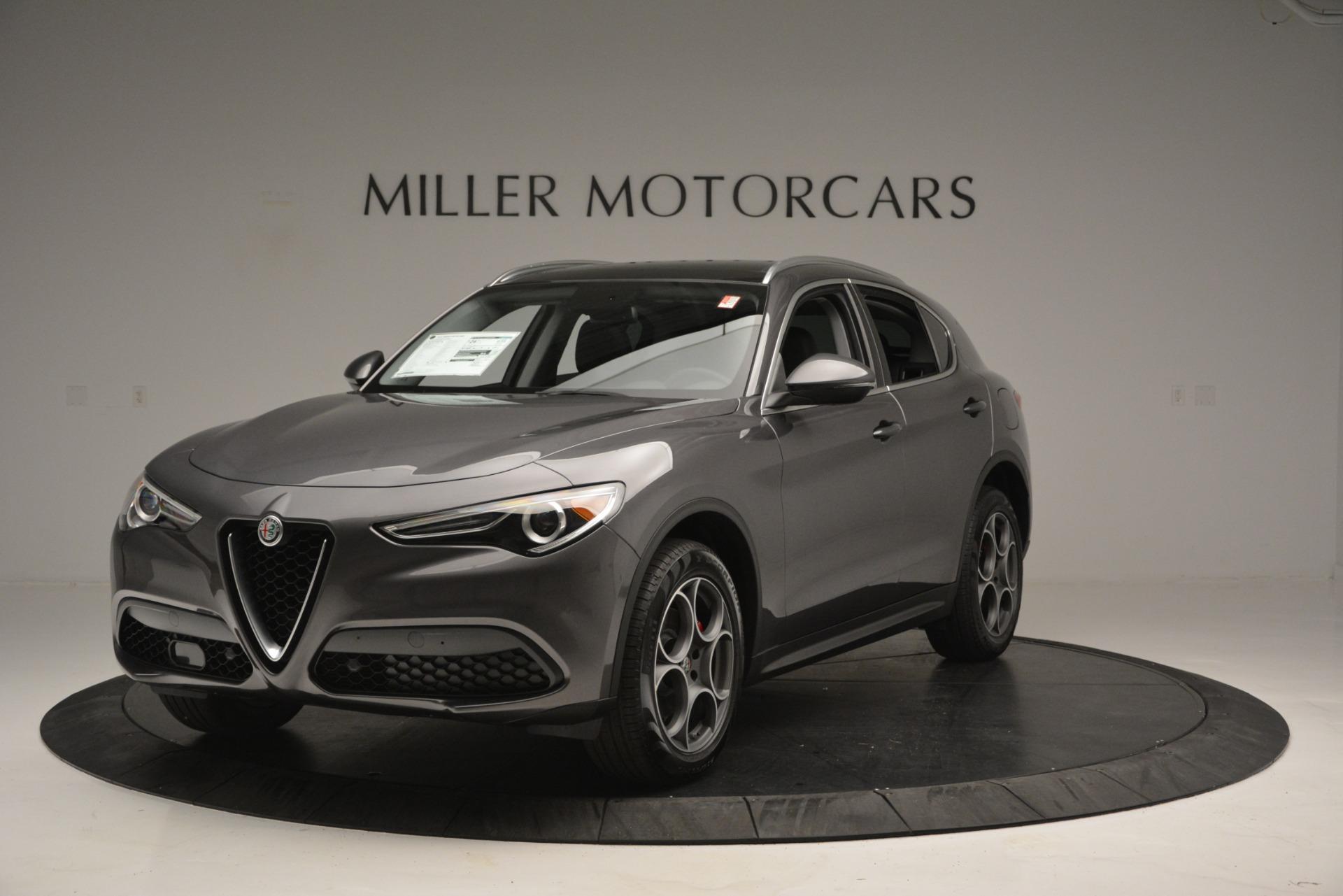 New 2019 Alfa Romeo Stelvio Q4 for sale Sold at Alfa Romeo of Greenwich in Greenwich CT 06830 1