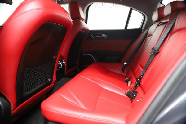 New 2019 Alfa Romeo Giulia Q4 for sale Sold at Alfa Romeo of Greenwich in Greenwich CT 06830 18