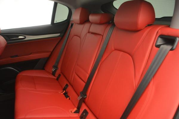 New 2019 Alfa Romeo Stelvio Sport Q4 for sale Sold at Alfa Romeo of Greenwich in Greenwich CT 06830 18