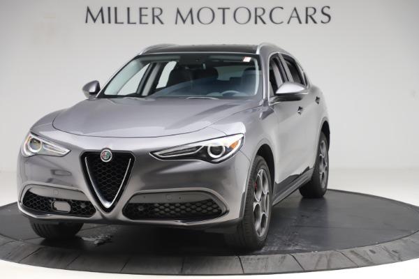 Used 2019 Alfa Romeo Stelvio Q4 for sale Sold at Alfa Romeo of Greenwich in Greenwich CT 06830 1