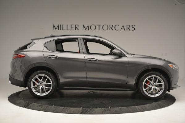New 2019 Alfa Romeo Stelvio Ti Sport Q4 for sale Sold at Alfa Romeo of Greenwich in Greenwich CT 06830 9