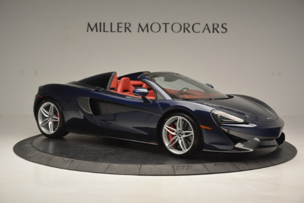 New 2019 McLaren 570S Spider Convertible for sale Sold at Alfa Romeo of Greenwich in Greenwich CT 06830 10