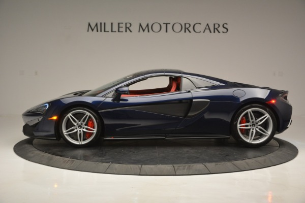 New 2019 McLaren 570S Spider Convertible for sale Sold at Alfa Romeo of Greenwich in Greenwich CT 06830 16