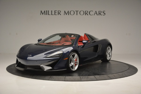New 2019 McLaren 570S Spider Convertible for sale Sold at Alfa Romeo of Greenwich in Greenwich CT 06830 2