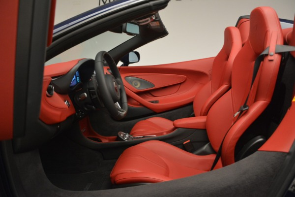 New 2019 McLaren 570S Spider Convertible for sale Sold at Alfa Romeo of Greenwich in Greenwich CT 06830 24