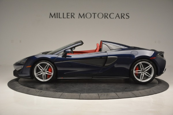 New 2019 McLaren 570S Spider Convertible for sale Sold at Alfa Romeo of Greenwich in Greenwich CT 06830 3