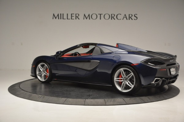New 2019 McLaren 570S Spider Convertible for sale Sold at Alfa Romeo of Greenwich in Greenwich CT 06830 4