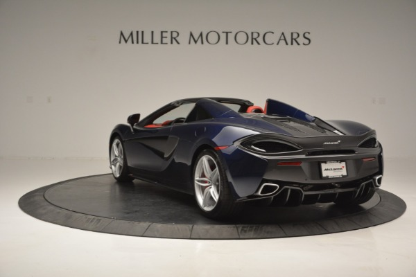New 2019 McLaren 570S Spider Convertible for sale Sold at Alfa Romeo of Greenwich in Greenwich CT 06830 5