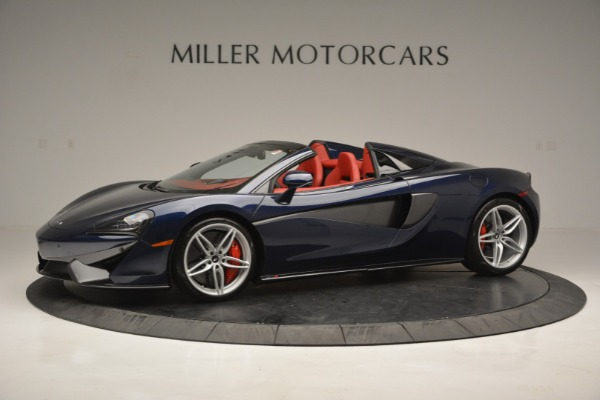 New 2019 McLaren 570S Spider Convertible for sale Sold at Alfa Romeo of Greenwich in Greenwich CT 06830 1