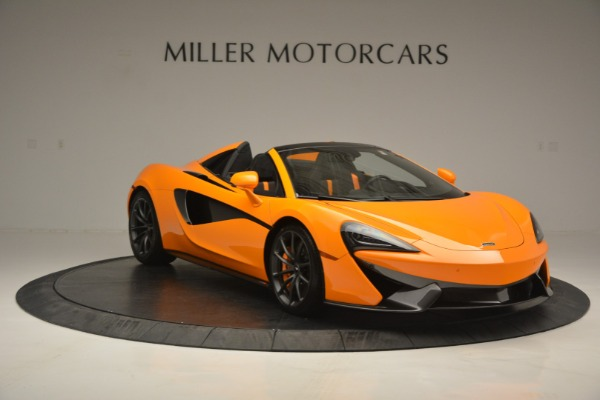 Used 2019 McLaren 570S Spider for sale $186,900 at Alfa Romeo of Greenwich in Greenwich CT 06830 11