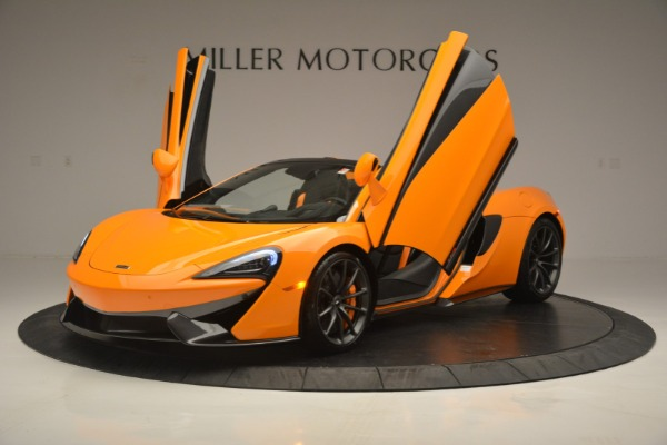 Used 2019 McLaren 570S Spider for sale $186,900 at Alfa Romeo of Greenwich in Greenwich CT 06830 14