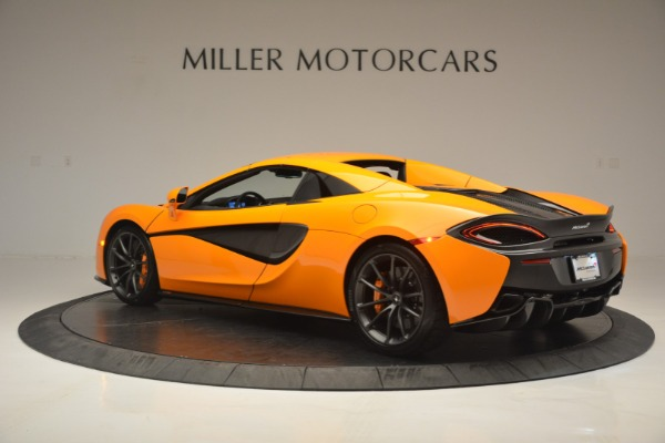 Used 2019 McLaren 570S Spider for sale $186,900 at Alfa Romeo of Greenwich in Greenwich CT 06830 17