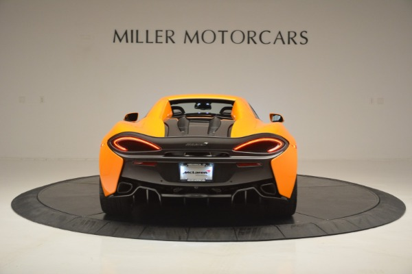 Used 2019 McLaren 570S Spider for sale $186,900 at Alfa Romeo of Greenwich in Greenwich CT 06830 18