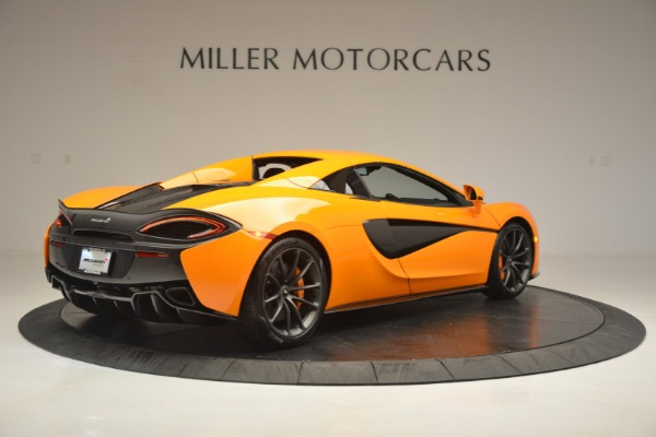 Used 2019 McLaren 570S Spider for sale $186,900 at Alfa Romeo of Greenwich in Greenwich CT 06830 19