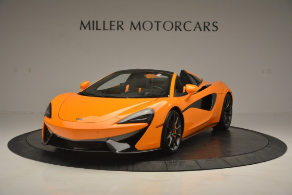 Used 2019 McLaren 570S Spider for sale $186,900 at Alfa Romeo of Greenwich in Greenwich CT 06830 2