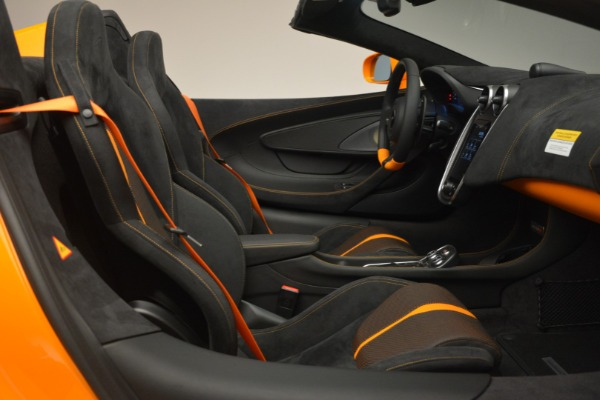 Used 2019 McLaren 570S SPIDER Convertible for sale $240,720 at Alfa Romeo of Greenwich in Greenwich CT 06830 27