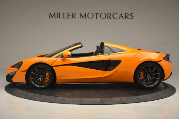 Used 2019 McLaren 570S SPIDER Convertible for sale $240,720 at Alfa Romeo of Greenwich in Greenwich CT 06830 3