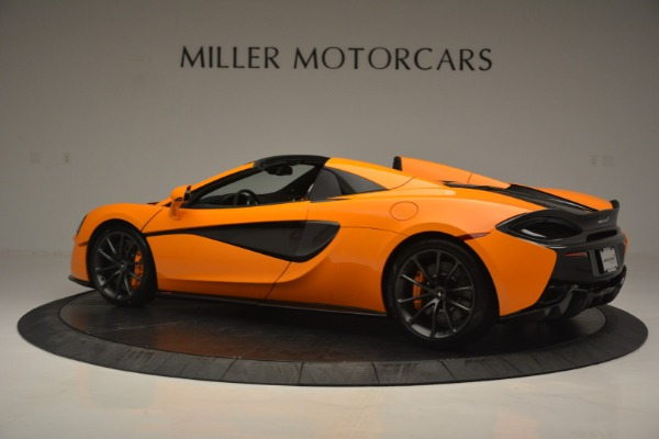 Used 2019 McLaren 570S Spider for sale $186,900 at Alfa Romeo of Greenwich in Greenwich CT 06830 4