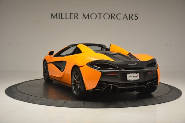 Used 2019 McLaren 570S Spider for sale $186,900 at Alfa Romeo of Greenwich in Greenwich CT 06830 5