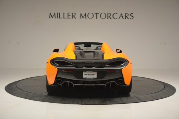 Used 2019 McLaren 570S Spider for sale $186,900 at Alfa Romeo of Greenwich in Greenwich CT 06830 6