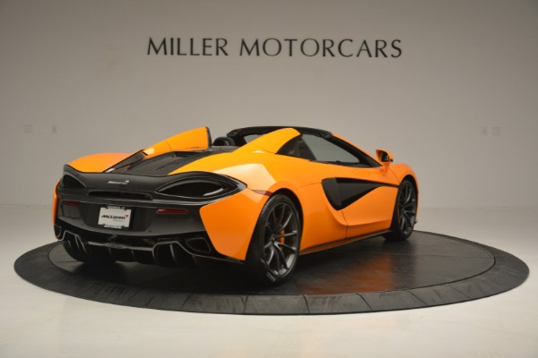 Used 2019 McLaren 570S Spider for sale $186,900 at Alfa Romeo of Greenwich in Greenwich CT 06830 7
