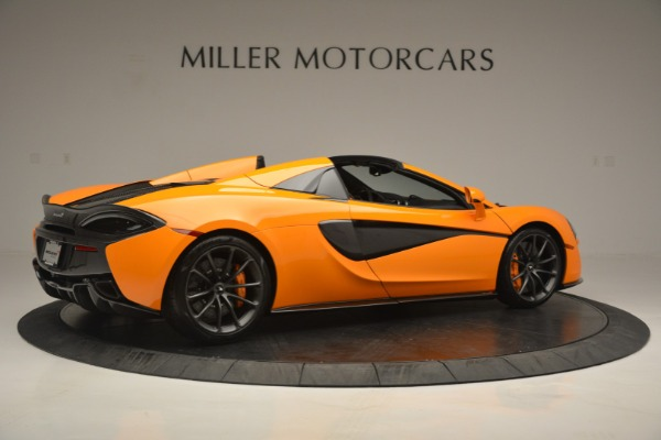 Used 2019 McLaren 570S Spider for sale $186,900 at Alfa Romeo of Greenwich in Greenwich CT 06830 8