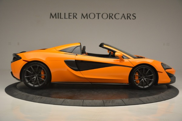 Used 2019 McLaren 570S Spider for sale $186,900 at Alfa Romeo of Greenwich in Greenwich CT 06830 9