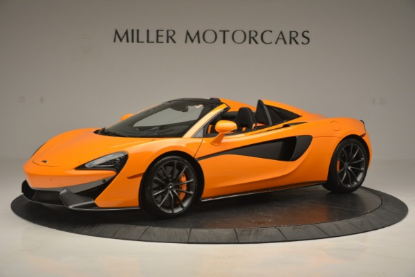 Used 2019 McLaren 570S SPIDER Convertible for sale $240,720 at Alfa Romeo of Greenwich in Greenwich CT 06830 1