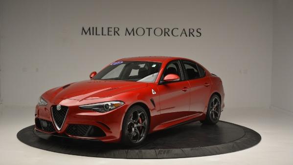 Used 2017 Alfa Romeo Giulia Quadrifoglio for sale Sold at Alfa Romeo of Greenwich in Greenwich CT 06830 2