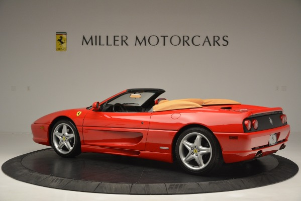 Used 1997 Ferrari 355 Spider 6-Speed Manual for sale Sold at Alfa Romeo of Greenwich in Greenwich CT 06830 4