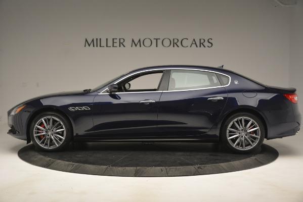 New 2019 Maserati Quattroporte S Q4 for sale Sold at Alfa Romeo of Greenwich in Greenwich CT 06830 3