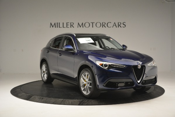 New 2019 Alfa Romeo Stelvio Ti Sport Q4 for sale Sold at Alfa Romeo of Greenwich in Greenwich CT 06830 11