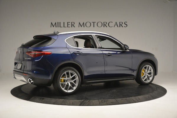 New 2019 Alfa Romeo Stelvio Ti Sport Q4 for sale Sold at Alfa Romeo of Greenwich in Greenwich CT 06830 8
