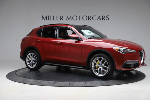 New 2019 Alfa Romeo Stelvio Ti Sport Q4 for sale Sold at Alfa Romeo of Greenwich in Greenwich CT 06830 10