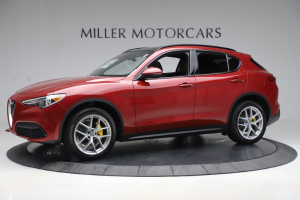 New 2019 Alfa Romeo Stelvio Ti Sport Q4 for sale Sold at Alfa Romeo of Greenwich in Greenwich CT 06830 2
