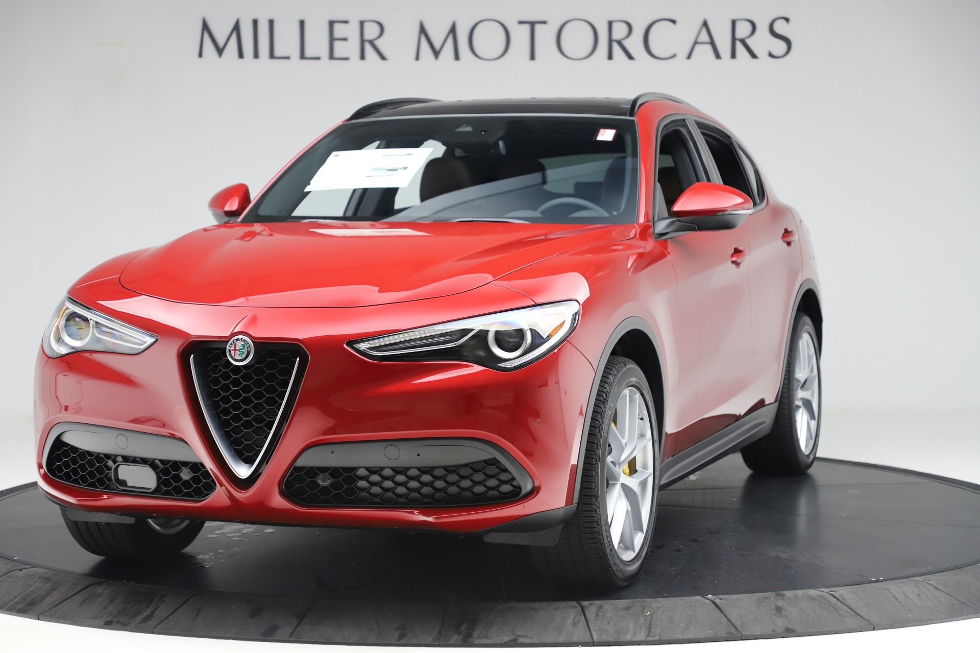 New 2019 Alfa Romeo Stelvio Ti Sport Q4 for sale Sold at Alfa Romeo of Greenwich in Greenwich CT 06830 1