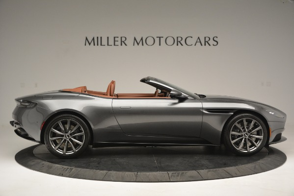 New 2019 Aston Martin DB11 V8 Convertible for sale Sold at Alfa Romeo of Greenwich in Greenwich CT 06830 8