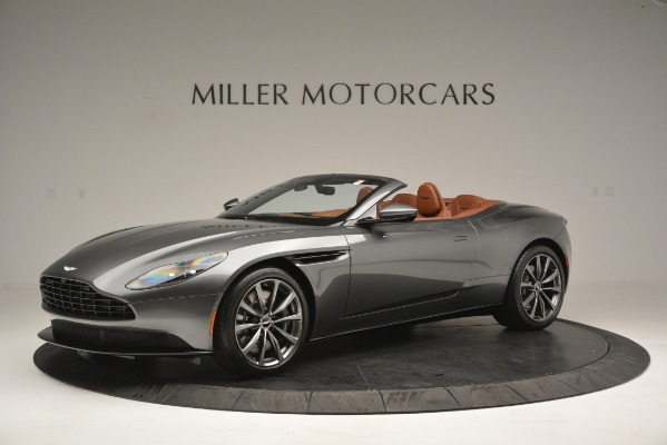 New 2019 Aston Martin DB11 V8 Convertible for sale Sold at Alfa Romeo of Greenwich in Greenwich CT 06830 1