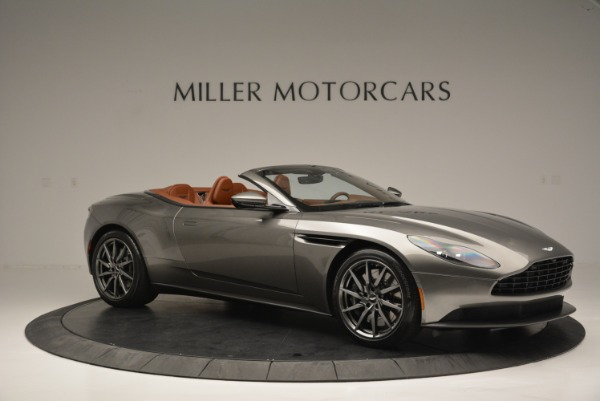 Used 2019 Aston Martin DB11 V8 Convertible for sale Sold at Alfa Romeo of Greenwich in Greenwich CT 06830 10