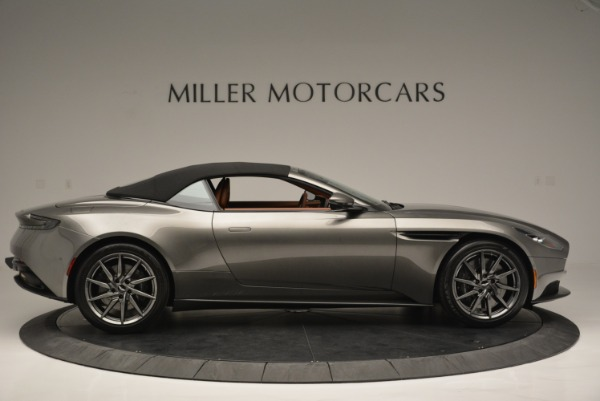 Used 2019 Aston Martin DB11 V8 Convertible for sale Sold at Alfa Romeo of Greenwich in Greenwich CT 06830 16