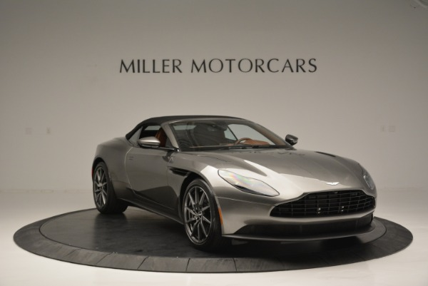 Used 2019 Aston Martin DB11 V8 Convertible for sale Sold at Alfa Romeo of Greenwich in Greenwich CT 06830 18