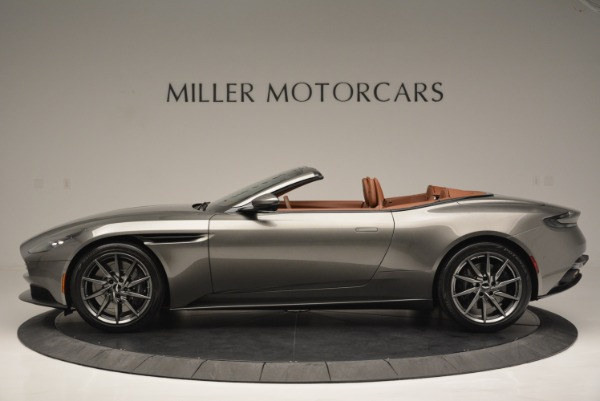 Used 2019 Aston Martin DB11 V8 Convertible for sale Sold at Alfa Romeo of Greenwich in Greenwich CT 06830 3