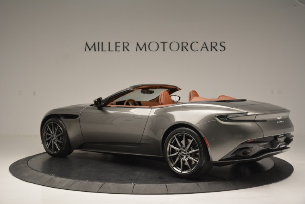 Used 2019 Aston Martin DB11 V8 Convertible for sale Sold at Alfa Romeo of Greenwich in Greenwich CT 06830 4