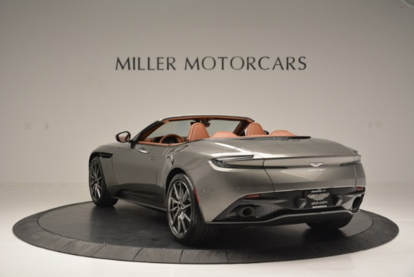 Used 2019 Aston Martin DB11 V8 Convertible for sale Sold at Alfa Romeo of Greenwich in Greenwich CT 06830 5