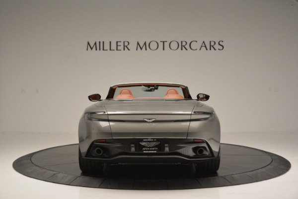 Used 2019 Aston Martin DB11 V8 Convertible for sale Sold at Alfa Romeo of Greenwich in Greenwich CT 06830 6