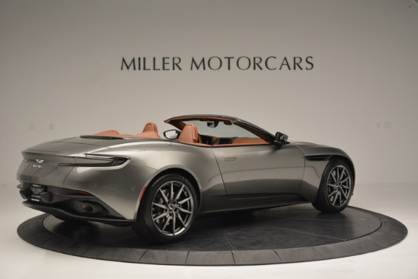 Used 2019 Aston Martin DB11 V8 Convertible for sale Sold at Alfa Romeo of Greenwich in Greenwich CT 06830 8